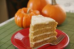 Vermont Spice Cake With Maple Cream Cheese Frosting...