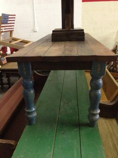 Reclaimed Harvest Table - Thanksgiving Table by ReclaimedAmerica, $2200.00