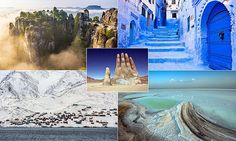 Indian salt flats, Chile's hand in the desert and a German palace: The most spellbinding travel destinations you've probably never heard of | Daily Mail Online