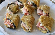 Finger Food Appetizers, Yummy Appetizers, Melanzana Recipe, Cooking Time, Cooking Recipes, My Favorite Food, Favorite Recipes, Appetisers, Antipasto