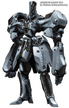 机械设定:Animum Saxis TG…@蓝色的麒麟2012采集到机战(1031图)_花瓣游戏