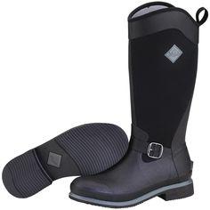 Women's Muck® Reign Trail Boots, Black / Gunmetal