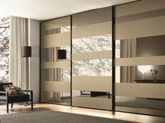 porte de placard coulissante de design moderne