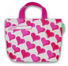 Hearts Lunch Bag