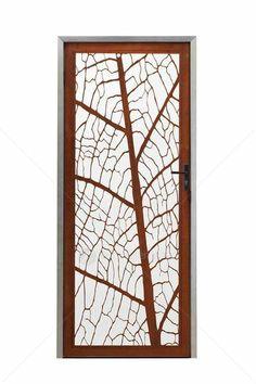 Entanglements Laser Cut Metal Art - Screen Doors