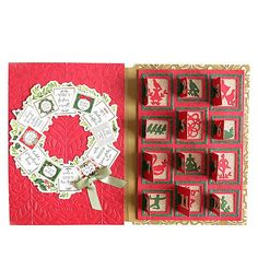 Anna Griffin® 12 Days of Christmas Mini Die Set - 9633129 | HSN Christmas Minis, 12 Days Of Christmas, Christmas Projects, Christmas Cards, Christmas Decorations, Anna Griffin, Sewing Crafts, Card Making, Paper Crafts