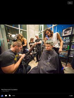 Buzz Salon & Red Shamrock Foundation - Bald is the new Beautiful !