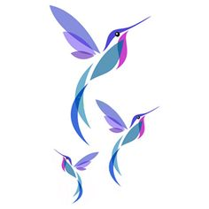 Hummingbird Tattoo Watercolor, Watercolour Tattoo Men, Small Hummingbird Tattoo, Hummingbird Drawing, 3 Birds Tattoo, Tiny Bird Tattoos, Small Tattoos, Full Tattoo, Tattoo Set