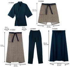 Japanese Restaurant Uniform Jinbei Pants And Apron - Buy Japanese Restaurant Uniform Product on Alibaba.com
