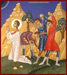 St Stephen Martyr icon Saint Stephen, Saint Etienne, Moise, Orthodox Icons, New Testament, Saints, Communion, Disney Characters, Fictional Characters
