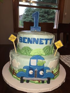 Little Blue Truck cake Google Search Sweet Child of Mine