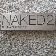Naked 2 pallet It's been used, had it for a while but don't reach for it as much no more Urban Decay Makeup Eyeshadow