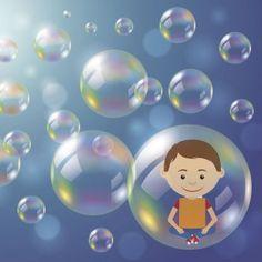La burbuja que enseña, cuento sobre la desobediencia.