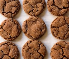 The very best chewy molasses cookies via forkknifeswoon.com | @forkknifeswoon