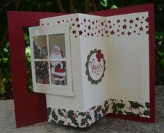 Santa Scene Moving Card