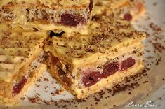 Romanian Desserts, Romanian Food, Romanian Recipes, Sweet Little Things, Good Food, Yummy Food, Sweets Recipes, Homemade Cakes, Dessert Bars