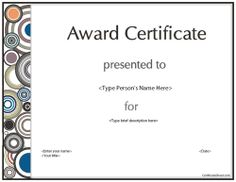 education certificate certificate for participation in