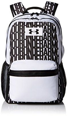 Women's Under Armour Watch Me Backpack, White (100), One Size