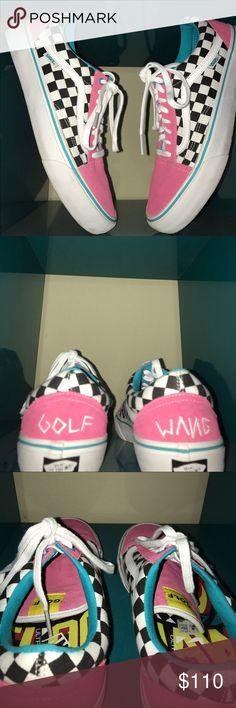 d3e63cb71c Golf Wang Vans Golf Wang Vans. 9 10 Condition. Size 11. Vans