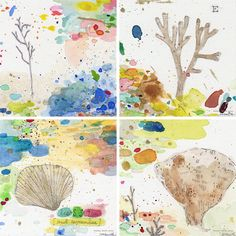 Beautiful watercolor/mixed media by Heather Smith Jones