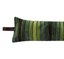 Draught excluder Next Seville Stripe Green fabric