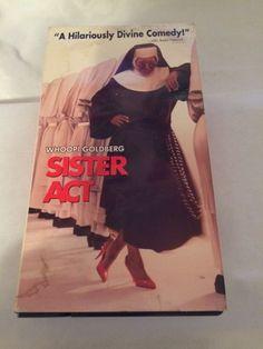 Sister Act (VHS, 1992) Whoopi Goldberg,Maggie Smith,Harvey Keitel