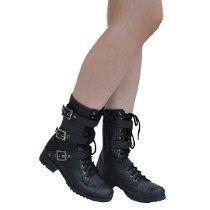 d33aa6d6b Coturno Feminino Gotico - Calçados, Roupas e Bolsas no Mercado Livre Brasil