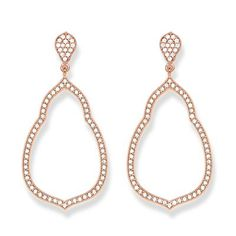 Ear studs from the Glam & Soul collection: stunning complement to your party look.