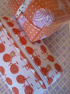 sewing with those tempting laminated cottons.  Link to sewing and washing them in the post.  I'm tempted to try them, how about you?
