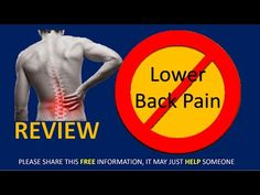 Lower back pain is *KILLING* me -A pain stopper at age Back Pain, Medicine, Exercise, Ejercicio, Excercise, Work Outs, Medical, Workout, Sport