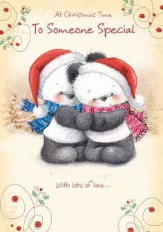 To someone special - bear hugs