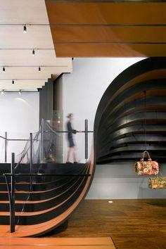 La Maison Unique, Heatherwick Studio, Soho, New York, Retail Interior Treppen Stairs Escaleras  repinned by www.smg-treppen.de