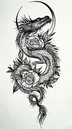 Dope Tattoos, Badass Tattoos, Body Art Tattoos, Small Tattoos, Tattoos For Guys, Tattoo Drawings, Tattoo Sketches, Dragon Tattoo Drawing, Arabic Tattoos