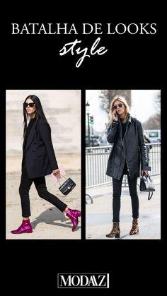 Batalha de looks!! Bota colorida vs animal print! #modaazoficial #boots Looks Style, Photo And Video, Animal, Videos, Instagram, Battle, Colorful, Animals, Animaux