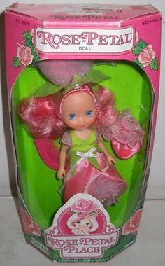 Rose petal place doll