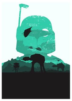 Awesome Star Wars art print