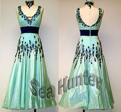 ballroom dance competition costumes | Ballroom Smooth Standard Dance Competition US6 Dress Costume #B3253 ...