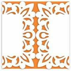 Silhouette Design Store - View Design #42790: ornate square gatefold square card