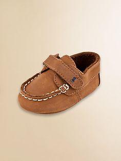 Ralph Lauren~Infant's Captain EZ Boater Shoes