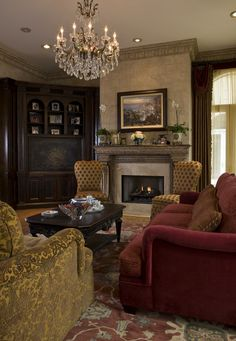 Featured Homes | Habersham Home | Living Room