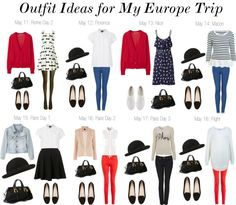 """Maybe for the girls......""""Outfit Ideas for Europe II (new)"""" by claudinemedina on Polyvore"""