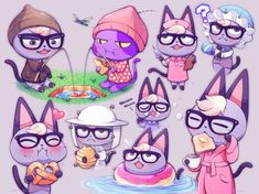 See more 'Raymond' images on Know Your Meme! Animal Crossing Fan Art, Animal Crossing Villagers, Animal Crossing Memes, Animal Crossing Qr Codes Clothes, Star Fox, Pokemon, Art Reference Poses, Furry Art, Cute Art