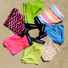 This #summer, opt for fierce hues and fun prints. #SoffeDri #Shorts