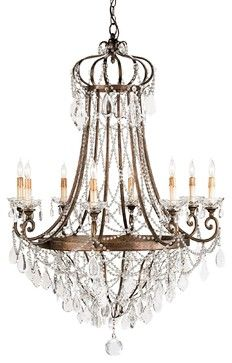 Scarlett Chandelier traditional chandeliers
