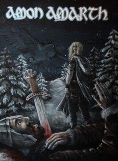 Amon+Amarth+Poster+by+hathor22+on+CreativeAllies.com