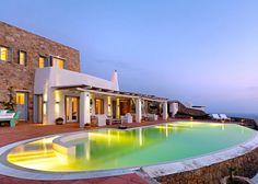 Villa Penelope: Ultra-Lujosa Propiedad En La Isla Griega de Míconos