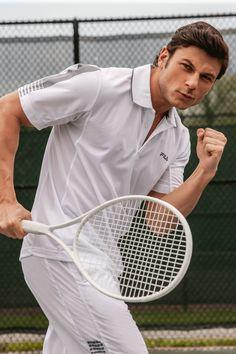 White Tennis Polo by Fila