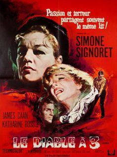 Simone Signoret James Caan Katharine Ross LE Diable A 3 Curtis Harrington 1967 | eBay