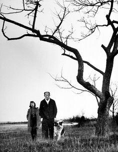 Jackson Pollock & Lee Krasner in 1949.