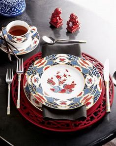 Chinoiserie Chic: Chinoiserie Entertaining on the Fourth of July